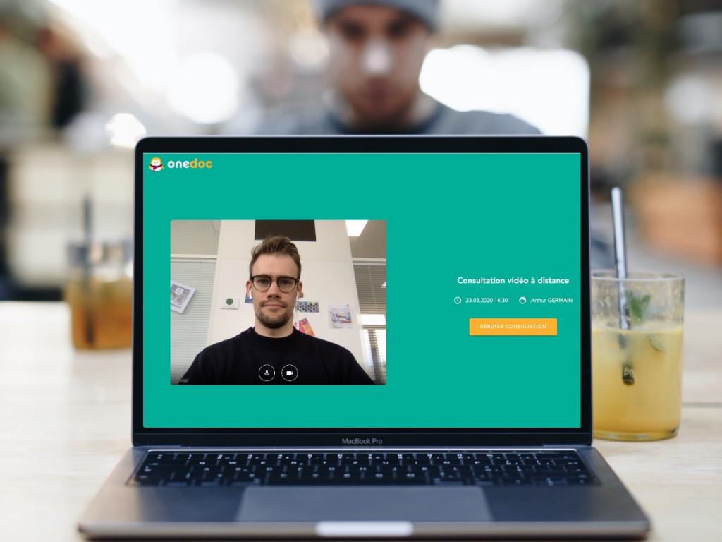 Image de la consultation video