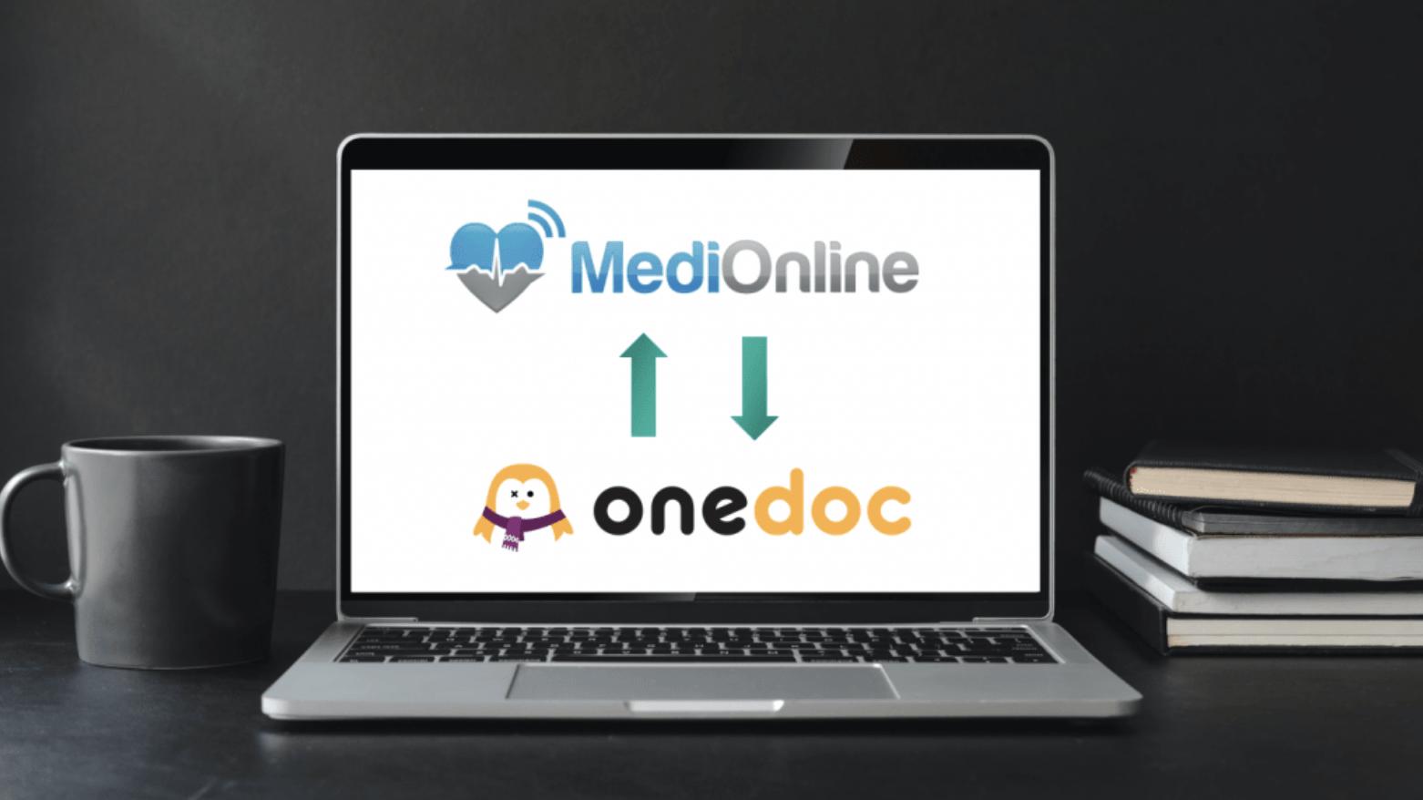 Intégration MediOnline et OneDoc