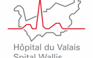 Hôpital du Valais logo