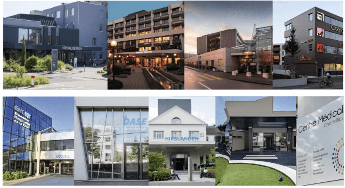 Groupes médicaux suisses