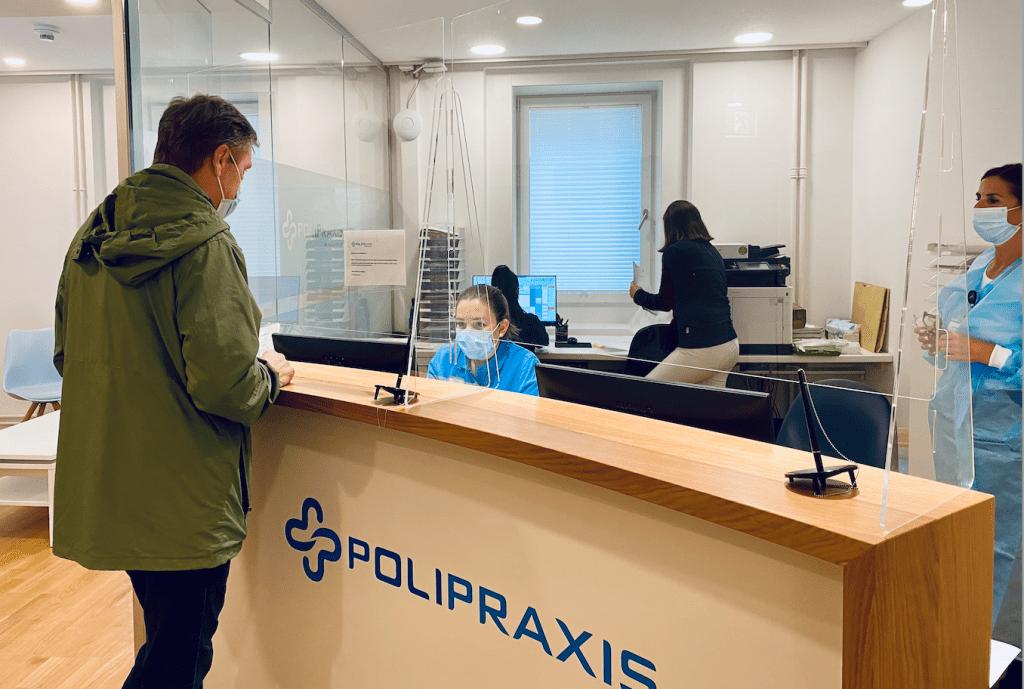 Polipraxis und Online-Terminbuchung von OneDoc